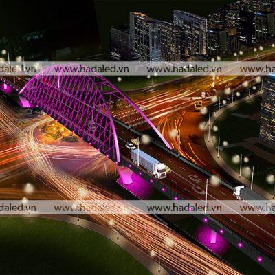 Demo chiếu sáng cầu