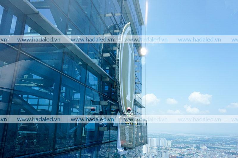 Biển quảng cáo toà nhà