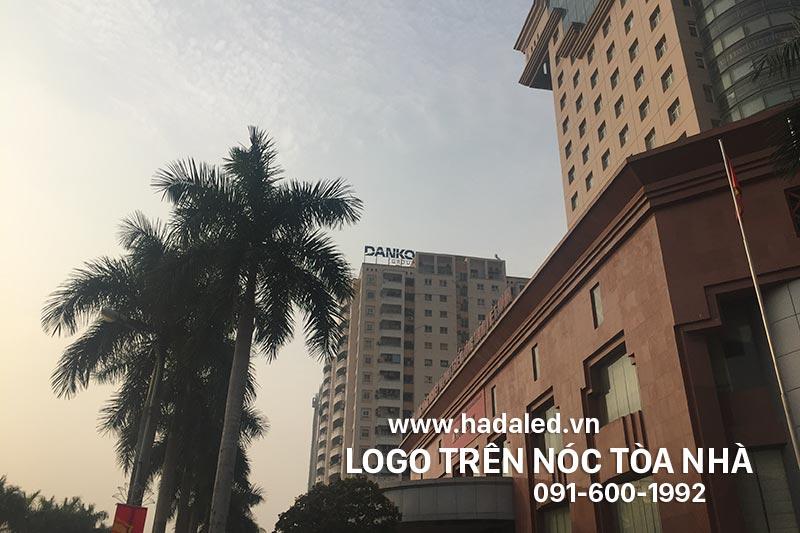 Lắp đặt Logo tòa nhà