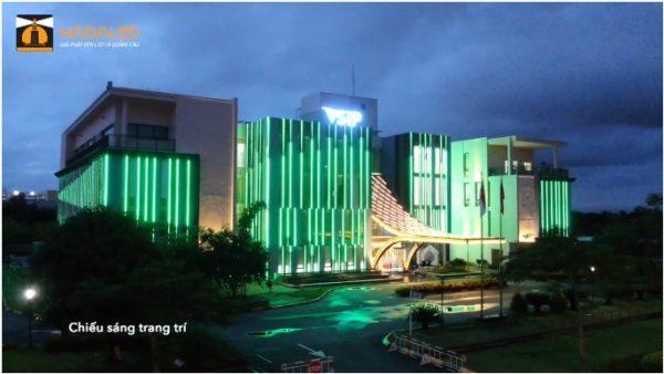 led thanh trang trí tòa nhà