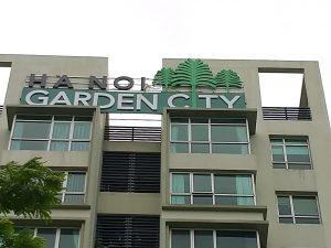 thiết kế biển quảng cáo tòa nhà