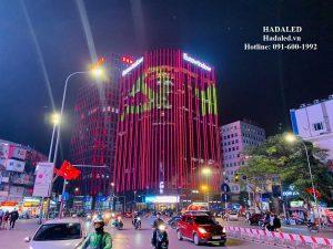 đèn led trang trí tòa nhà, kiến trúc